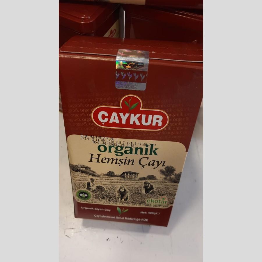 Organik Hemşin Çayı Karton