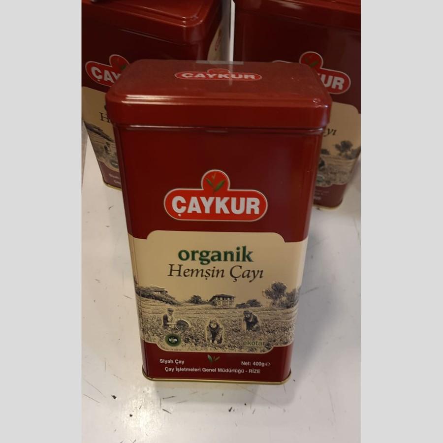 Çaykur Organik Hemşin Çayı Teneke